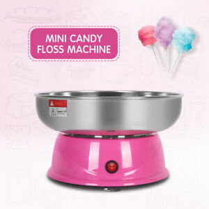 Home Mini Electric Cotton Candy Maker Sugar Floss Machine Countertop Carnival