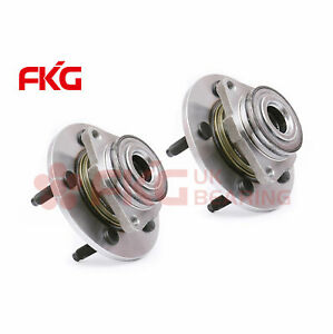 Pair Front Wheel Hub And Bearing Assembly Fits Dodge 1500 Truck 2wd 4wd 515072