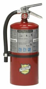 Buckeye Fire Extinguisher Dry Chemical Monoammonium Phosphate 10 Lb
