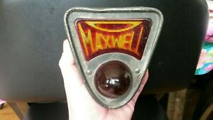 Nice Old Antique Vintage 1920 S Maxwell Car Tail Light Lamp Rat Rod
