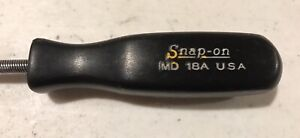 Snap On Md18a Flexible Carburetor Ball End Hex Driver Black Hard Handle Usa