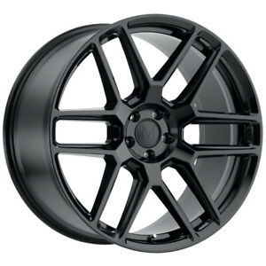 Staggered Mandrus Otto Front 18x8 5 Rear 18x9 5 5x112 Gloss Black Wheels Rims