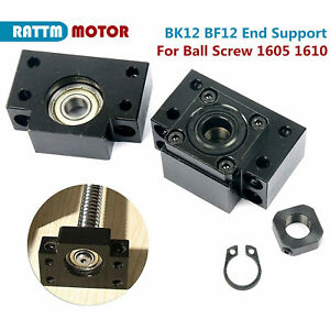Bf12 Bk12 End Support Bearing Block Fixed Floated For Ball Screw Sfu1605 Sfu1610