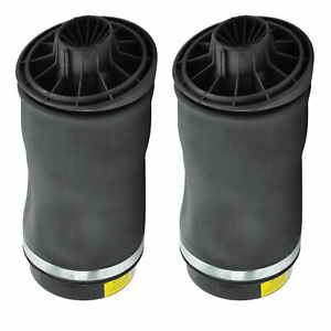 2 X Air Spring Bags Fits For Mercedes Benzr320 R350 R500 W251 Rear Suspension
