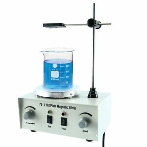 79 1 1000ml Hot Plate Magnetic Stirrer Lab Heating Stirring Mixer 110v