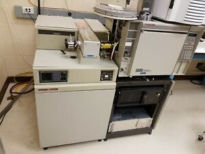 Two Working Agilent 5890 Ii 5989b Gc ms Systems Pos neg Ei ci Hi Mass extras
