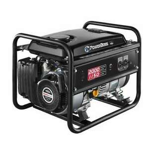 Briggs Stratton Powerboss 30665 1150w Gas Powered Rv Generator for Parts