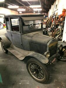 1925 Model T Ford Coupe Body Only