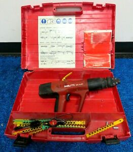 Hilti Dx A40 Powder Actuated Concrete Gun W case