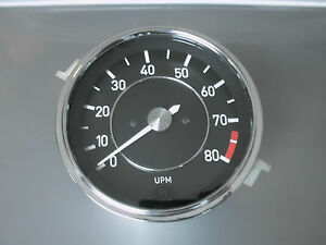 Bmw E9 3 0 Csi Alpina Tachometer Red Area First Since 7300 And Min