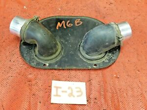 Mgb Mgc Heater Defroster Plate 90 Deg Angle Outlets Original