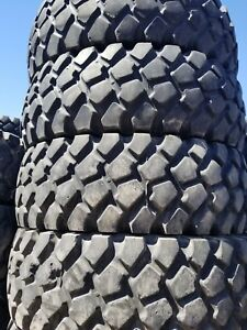 Michelin Xzl 53 16 00r20 Military Tire 50 Or Better Tread 1600r20