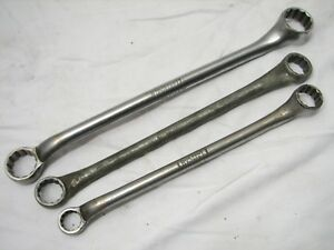 Set Blue Point Box End Wrenches 5 8 1 Sae Tools X3032 x2526 X2024