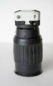Hubbell Hubbellock 21414b 30amp 600vac Plug With Boot