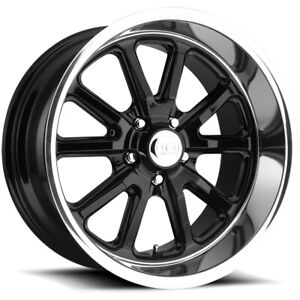 Staggered Us Mags U121 Rambler 18x8 18x9 5 5x4 75 1mm Gloss Black Wheels Rims