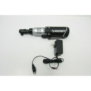 Husky H38cprat 3 8 In Drive 12 Volt Lithium Ion Cordless Ratchet