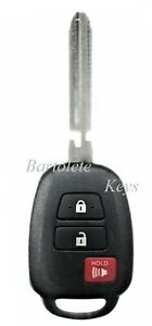 Replacement Remote Keyless Entry Fob Fits Toyota Corolla Camry Tacoma Tundra
