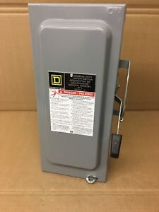 Square D 60 amp General duty Safety Switch D222ncp Disconect