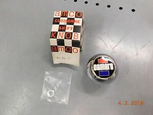 Nos Amco Chrome Camaro Shift Knob 4 speed Ss Shift Ball Rs 5 16 X 18 Ss Rs Z 28