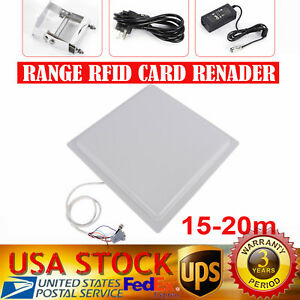 15m Ip65 Uhf Rfid Long Range Reader writer Wiegand Parking System access Control