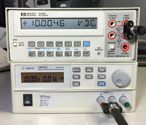 Hp Agilent 3478a Working 5 5 Digit Lcd Digital Dmm Multimeter Gpib