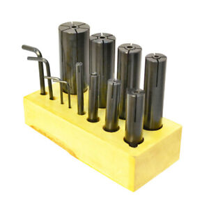 8 Pc 1 4 1 1 4 Expanding Arbor Set Lathe Fixture Machinist Tool Milling Mill