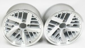84 92 Pontiac Firebird Formula 16x8 Factory Oem Rear Wheel Rims Pair 10052347