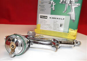 Italco H 3000 H v l p Spray Gun Automotive Kit W original Box Super Clean Usa
