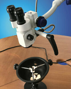 Ear Nose Throat 3 Step Magnification Portable Ent Microscope Manufacturer