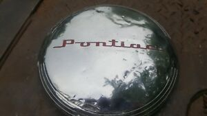 1 1930s Or 1940s Pontiac Hubcap Very Used Dog Dish
