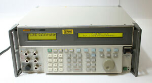Fluke 5820a Oscilloscope Calibrator With 5 Channel 2 1 Ghz Bandwidth For Parts