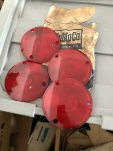 1957 58 59 60 61 62 63 Ford Pickup 1961 67 Econoline Rear Taillight Lens Nos