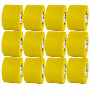Pro Tapes Pro Gaff 4 X 55yds Yellow Matte Cloth Gaffer Tape Case Of 12 Rolls