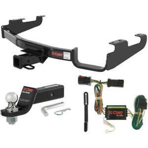 Curt Class 3 Hitch Tow Package W 1 7 8 Ball For Town Country Dodge Caravan