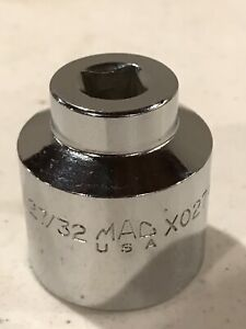 Mac Tools 27 32 In Weatherhead Socket 3 8 Drive