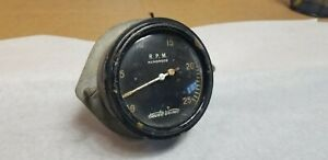 Stewart Warner Military Tach 2500 Rpm For Hot Rat Street Rod Trog Scta
