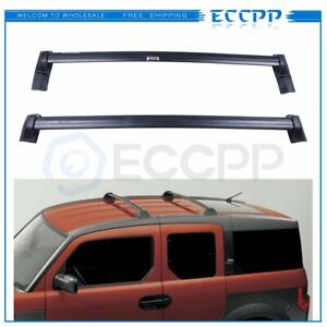 For 03 11 Honda Element Top Roof Rack Cross Bars Rail Oe Luggage Cargo Carrier