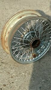 Mgb Wire Wheel Price Is For 1 Mg B Rin
