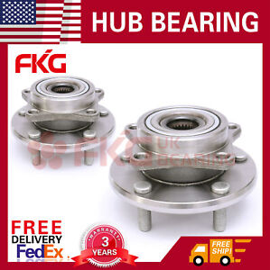 Front Pair Wheel Hub Bearing Fits 95 05 Mitsubishi Eclipse Chrysler Dodge 513157