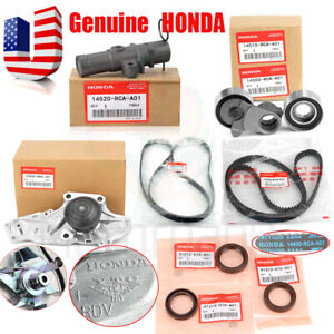 Genuine Oem Timing Belt Water Pump Kit For Honda Acura V6 Factory Parts Us