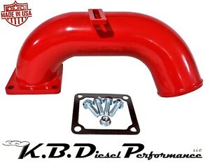 Red 3 High Flow Intake Horn 1998 5 02 Dodge 5 9l Cummins 24v Turbo Diesel