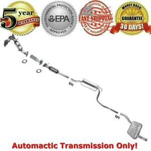 For 03 04 Ford Focus 2 3l Auto Sedan Complete Muffler Exhaust System Converter
