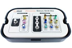 Implant Dentistry Zirconia Sinus Drill Kit Dowell