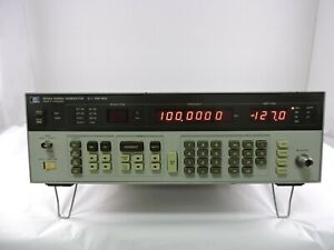 Agilent 8656a Synthesized Signal Generator 0 1 990mh 90 Day Warranty