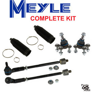 Engine Tie Rod Assembly Kit Ball Joints boots Complete Kt For Audi Vw