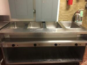 Randell 3614 Hot Food Steam Table 4 Wells Stainless Steel Commercial Restaurant