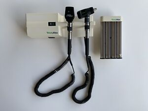 Welch Allyn 767 76710 Diagnostic Set With 23810 Otoscope 11720 Ophth