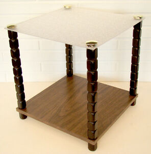 Vintage Mid Century Modern Acrylic Lamp Side Table Foremost Furn Cucamonga Ca