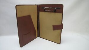 Leather A4 Folder Portfolio With Clipboard Personalisation Option Pa124