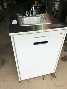 Portable Handwash Sink Nsf Concession W Hot Water Self Contained